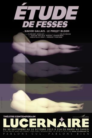 AFFICHE ETUDE DE FESSES