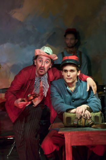 Histoire du Soldat - Ramuz et Stravinsky - Druet - Theatre de Poche Montparnasse